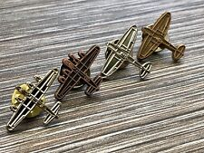 WW2 Aircraft Pin Badges X 4
