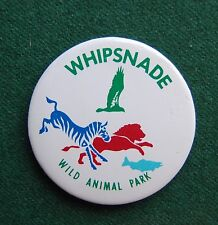 Whipsnade Wild Animal Park Pin Badge - Souvenir - Bedfordshire, UK - Zoo