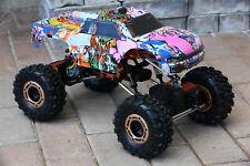 Custom Body Graffiti Pig for Redcat Racing Rockslide / Everest 1/10 Crawler