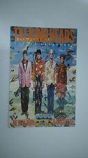 Talking Heads Little creatures vintage music postcard POST CARD