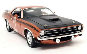 Highway61 Supercar Collectibles 1/18 Scale 1970 Plymouth AAR Cuda Bronze 1of 504