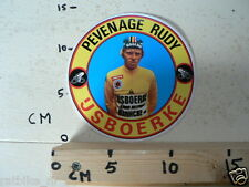 STICKER,DECAL RUDY PEVENAGE IJSBOERKE CYCLING