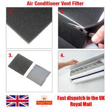Climatiseur Ventilateur Poussière Preuve filtre en mousse Feuille 3 Mm épais, 25 cm x 25 cm (625 cm²)