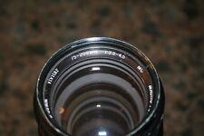 Vivitar 75-205mm f3.8 Macro Focusing Zoom 75-205