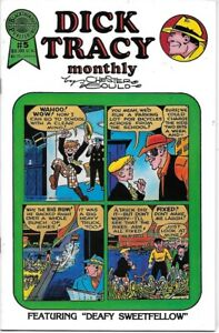Dick Tracy Monthly Reprints Comic Book #5 Blackthorne Publishing 1986 VERY FINE-