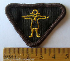 Vintage Canada Girl Guide Brownie ATHLETE MERIT BADGE Sports Health Patch