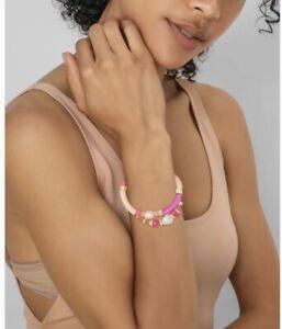 Kendra Scott Rachel Gold Friendship Bracelet In Pink Mix