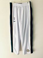 RARE! SEATTLE SUPERSONICS WARMUP PANTS TEARAWAY SWEATPANTS NBA REEBOK LARGE / XL