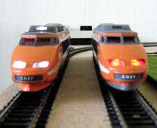 éclairage inversé blanc & rouge pour TGV SUD EST N°42 JOUEF  NEUF