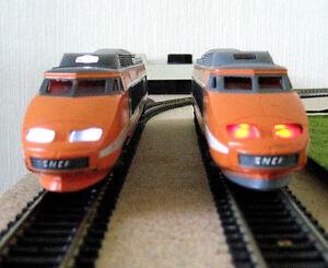 éclairage inversé blanc & rouge DIGITAL pour TGV SUD EST N°42 JOUEF  NEUF