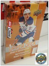 2016-17 Upper Deck Series One NHL Hockey Hobby Box