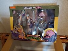 NECA Teenage Mutant Ninja Turtles Target 2-pack TMNT Shredder and Krang