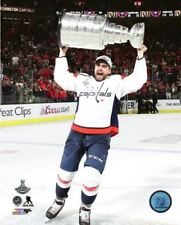 Matt Niskanen Washington Capitals Hoists Stanley Cup 8x10 Photo