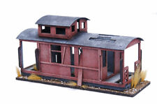 Old West Ghost Town Derelict Caboose Railway Car 25mm, 28mm Terrain D066