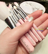 Brand New Cute Hello Kitty Professional Mini Makeup Cosmetic Brush Set 7 pcs