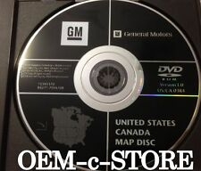 2004 05 06 07 Hummer H2 Buick Rendezvous Chevy Uplander Navigation DVD Map 3.0