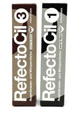 2 x Refectocil Augenbrauenfarbe & Wimpernfarbe mit je 15ml im Set