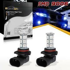 A Pair High Power Blue 9006 HB4 Fog Driving Lights 18 SMD LED Bulbs Off Road
