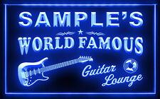 PF-TM B Name Personalized Custom Guitar Band Room Bar Beer Neon Sign