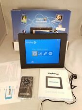 NIXPLAY WIFI CLOUD FRAME 8 INCH W08-02 BLACK MINT W/ 16GB + BOX+ MANUAL+ REMOTE