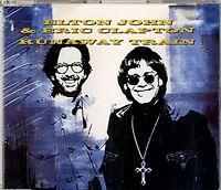 Elton John Runaway train (1992, & Eric Clapton) [Maxi-CD]