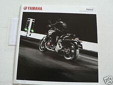 Y094-YAMAHA BROCHURE NAKED BIKES,VMAX,FZ1,MT-01,XJ6,FZ8,XJR1300 DUTCH 36 PAGES