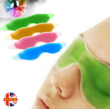 Soothing Gel Eye Mask Hot Cold Relaxing Headache Dark Bags Circles Tired Cooling
