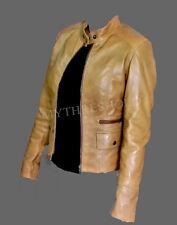 Women Brand New Ladies Lambskin Leather Jacket Biker Style - BNWT