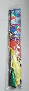Vintage 1998 Toy Biz  Spectra Star Rainbow Kite 4.5 NYLON DELTA KITE  #5023 NEW