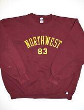 Vtg Russell Athletic Northwest Crewneck Sweatshirt Size 2XL USA Made Collegiate