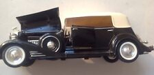 Die Cast Car 1933 Black Cadillac Fleetwood by Signature
