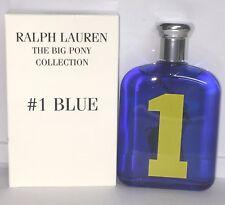 Polo Big Pony #1 Blue Cologne Ralph Lauren 4.2 oz /125ml EDT Spray Men Testr NIB