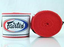 Fairtex Elastic Cotton Handwraps HW2 Hand Wraps Color Red