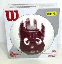Wilson Cast Away Tom Hanks Movie Volleyball Beach Ball AVP Recreational Series