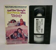 Vidmark VHS And You Thought Your Parents Were Weird! 1991 Family Live Action HTF