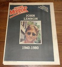 Record Mirror 1st Edition Weekly Magazines