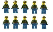 LEGO 10x vulkanforscher Volcán Explorador MINIFIGURA City cty683 NUEVO