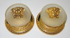 Versace Medusa Home Signature, Set of 2 Gold Plated Wall Clothes Knob, 4""