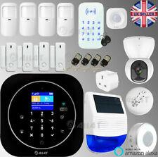 Wireless Security GSM WiFi Smart Home Office Intruder Burglar Fire Alarm System