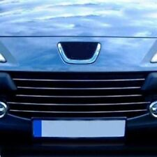 2005-2009 FOR peugeot 307 chrome front grill 5pcs S.STEEL