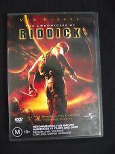 The Chronicles of Riddick R4 Dvd Vin Diesel Karl Urban
