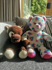 Build A Bear Bear And Dog with outfits