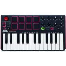 Akai MPK Mini MKII Controller Keyboard USB Midi Keyboard - New Under Warranty
