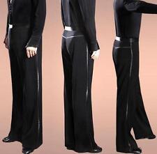 Costume Mens Ballroom Latin Modern Dance Loose Jazziness Stage Dress Samba Pants