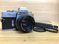 *Mint* Minolta SR505 35mm SLR Film Camera w/ MC Rokkor 50mm F/1.7 From Japan