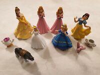 Disney Princess Figure Bundle by Bullyland SEL Belle Sleeping Beauty Snow White
