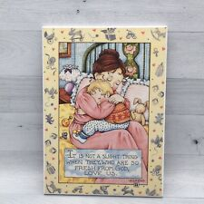 "Mary Engelbreit Fresh From God Me121 Colorplak Wall Art Plaque Sign 6"" x 8.5"""