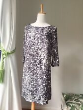 MNG By Mango BNWT Short Dress Size S , Black And White With 3/4 Sleeve