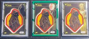 Jawa Creature Patch Card  LOTStar Wars 2020 Holocron Commemorative!! SP #d /99