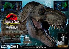 Prime 1 Jurassic Park Tirannosauro Rex Ex Esclusivo Statuina Nuovo Sigillato